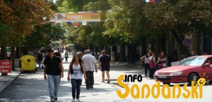 Сандански главна улица