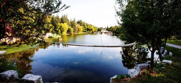 """Парк """"Свети Врач"""" – град Сандански. Езерото."""