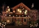 Новогодишно осветление за дома
